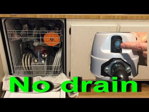 Dishwasher not draining after Garbage Disposal installation Remove knockout plug