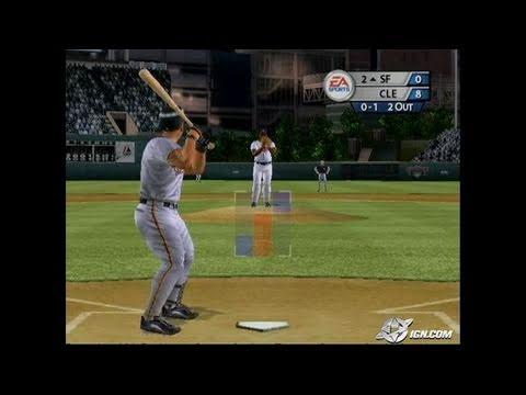 MVP Baseball 2005 GameCube Gameplay - Need to brush up.
