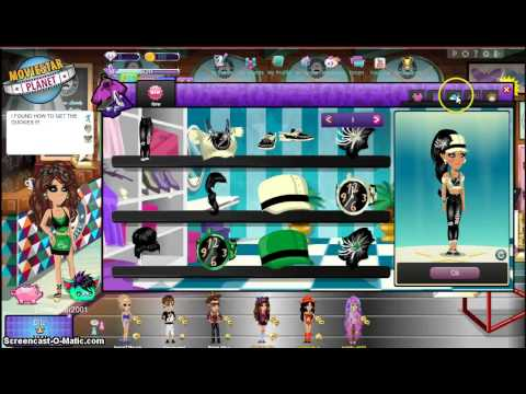 MovieStarPlanet- How to get the duckies ! (Vip's only)