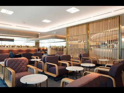 NEW Qantas Brisbane Premium Lounge Entry/Business Lounge & domestic Business Class flight (QF 521)