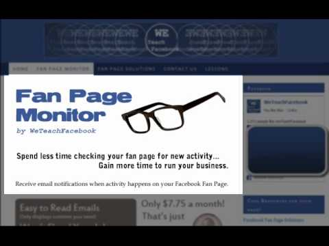 #11 - How to get Facebook Fan Page Notifications sent to your email