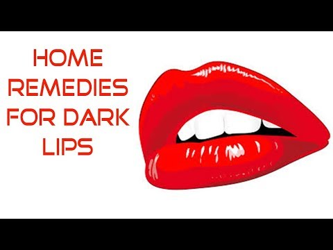 Home Remedies for Dark Lips   How To Get Pink Lips