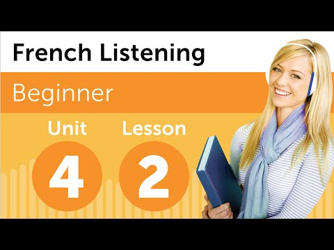 French Listening Comprehension - Finding A Friend's Apartment in France