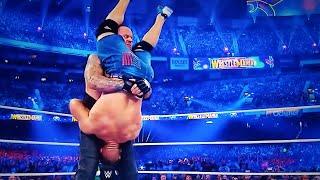 The Undertaker RETURNS WRESTLEMANIA 34 UNDERTAKER Destroys JOHN CENA WWE