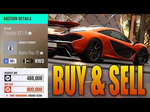Forza Horizon 3: Buy & Sell Cars in the Auction House! (Gameplay & Tips)