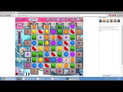 Candy Crush Saga Hack using Cheat Engine 6.2 Google Chrome