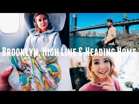 BROOKLYN, HIGH LINE & HEADING HOME   NYC VLOGS