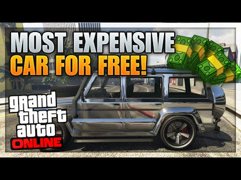 GTA 5 Most Expensive Car For FREE - Fully Customized Dubsta Spawn Location Online! (GTA 5 Rare Cars)