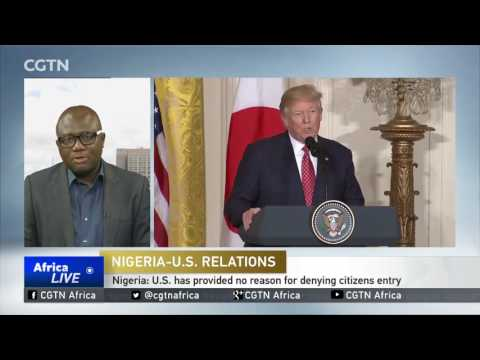 Nigeria issues advisory against travelling to the United States