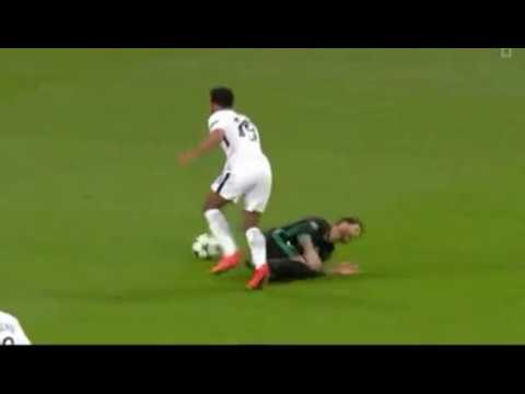 Tottenham vs Real madrid Angry moments ● The fight bitween ramos and dembele