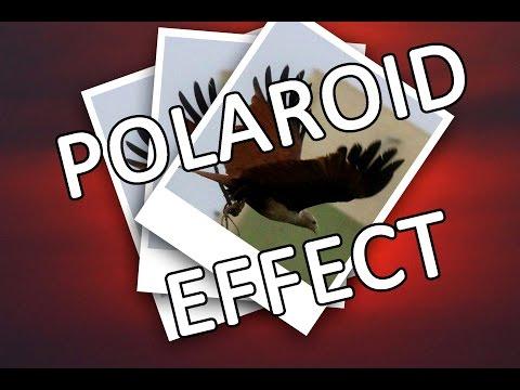 Polaroid effect in Photoshop - Beginner tutorial - Easy tutorial HD