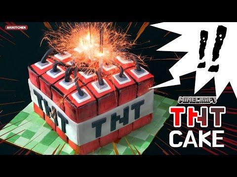 터짐주의!! 마인크래프트 TNT 케이크 만들기! - Ari Kitchen(아리키친)