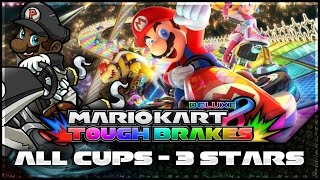 Mario Kart 8 Deluxe LIVESTREAM | 3 Stars in ALL CUPS, 200cc! (Tough Brakes LIVE) [PART 1]