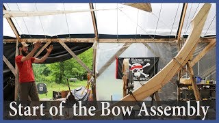 Starting on the bow assembly! - Acorn to Arabella