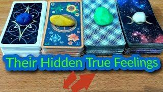 🕊️ Pick A Card - Their True Hidden Feelings For You? ❤️💯✔️
