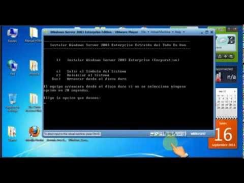 instalando windows 2003