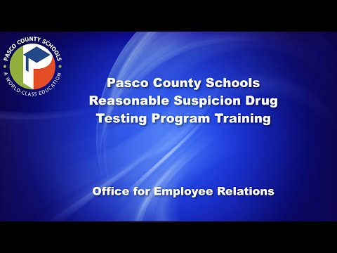 Employee Relations Drug and Alcohol Testing Policy