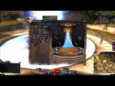 Guildwars 2 Crafting Spark in Mystic Forge