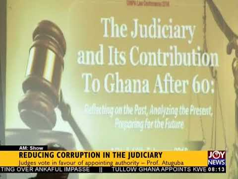 Judges Vote On Reducing Corruption In The Judiciary - AM Show on JoyNews (16-2-18)