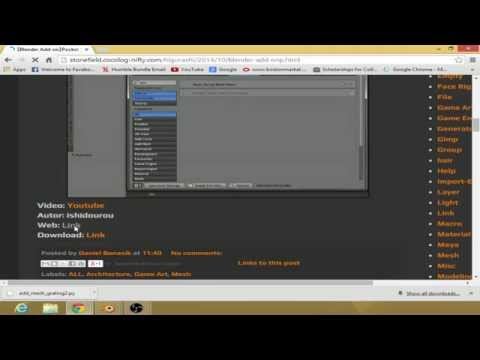 Blender Tutorial: How to Install Addons