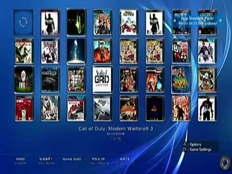 How to Install Games/CD's to Ps3