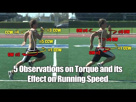 Running Speed Torque: 5 Observations to Help You Run Faster!