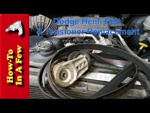 HowTo:  Change The Belt and Tensioner On A Dodge Hemi