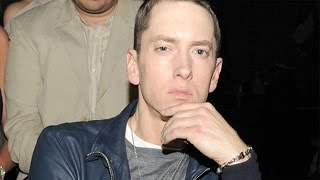 Eminem Looks Nearly Unrecognizable With a Beard and Dark Hair!