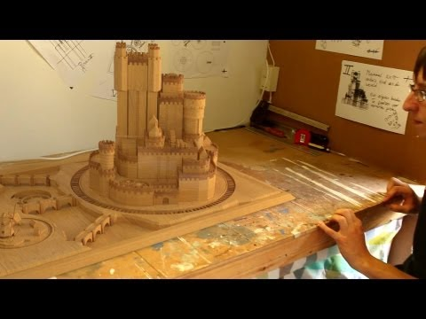 Real Extendable Castle (Game of Thrones castle) Blender Illusion