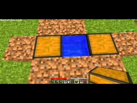 Minecraft How to make a Triple Chest