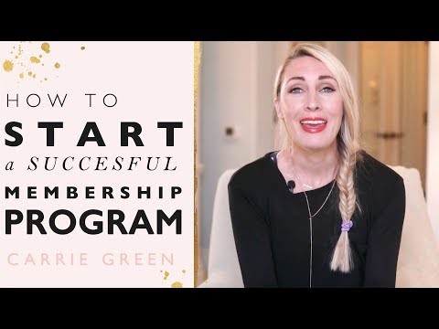 How To Start and Grow a Successful Membership Site and Program  Around Your Passion