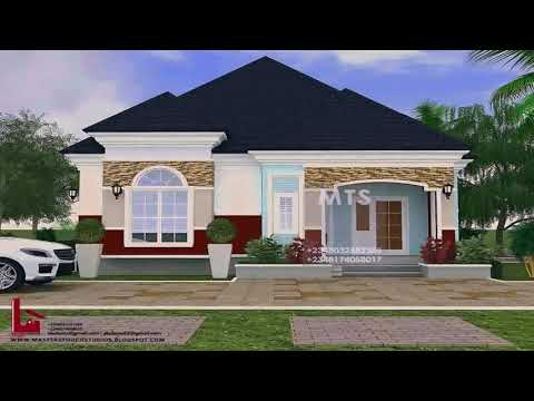 House Plan For 4 Bedroom Bungalow