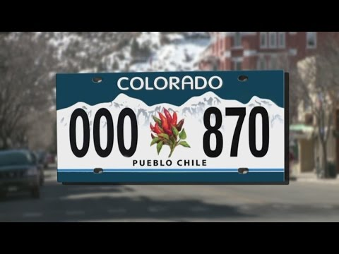 Colorado considers offering a chile license plate