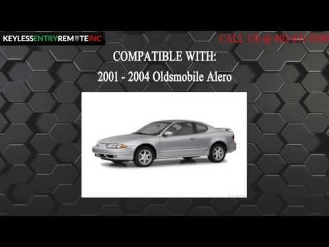 How To Replace An Oldsmobile Alero Key Fob Battery 2001 - 2004
