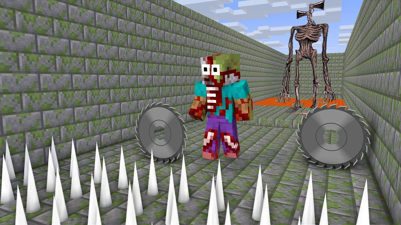 Monster School : Siren head short life - Minecraft Animation