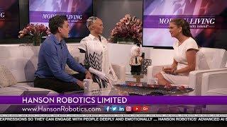 Hanson Robotics featured on Modern Living with kathy ireland®