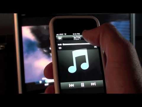 Apple Remote App (iPhone & iPod Touch): Tutorial and Demo