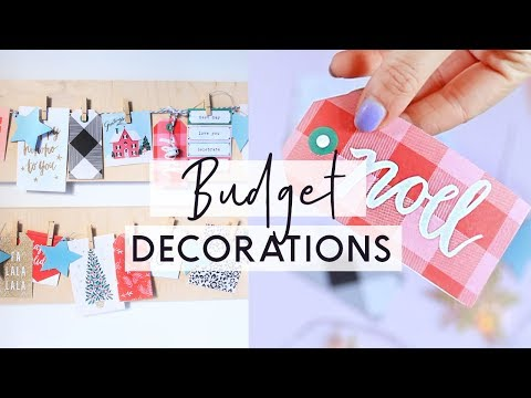 DIY Christmas Decorations on a Budget! ❄️ Easy and Cheap DIY Christmas Room Decor