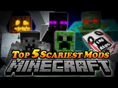 TOP 5 SCARIEST MODS IN MINECRAFT! - Slenderman, Creepypasta, Mutant Creatures & More Mods!
