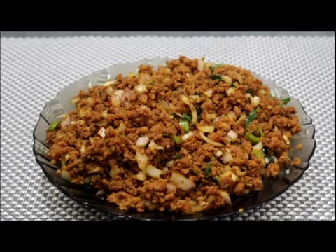 How to make mince stuffing   (qeema stuffing for samosa,roll and patties )