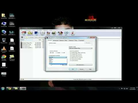 How to Make Highly Compressed File [3GB to 9MB] With WinRar