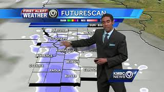 First Alert: Light snow ahead for your Sunday