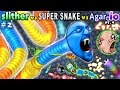 SLITHERio 2 Vs AGARio 4 Vs SUPER SNAKEio 1 FGTEEV Duddy Plays Ranks All 3 Favorite