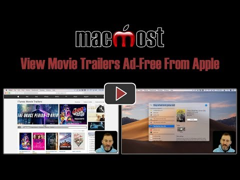 View Movie Trailers Ad-Free From Apple (MacMost #1836)