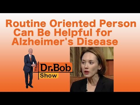 Routine Oriented Person Can Be Helpful for Alzheimer's Disease