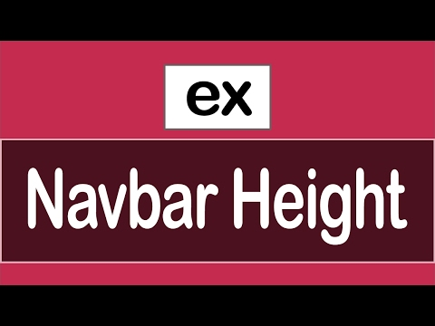 ( jQuery Examples ) Change Navbar Height When Scrolling