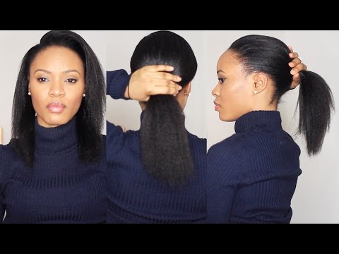 Relaxed Hair Update: From Thin to...less thin!