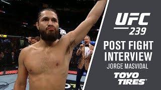 UFC 239: Jorge Masvidal -