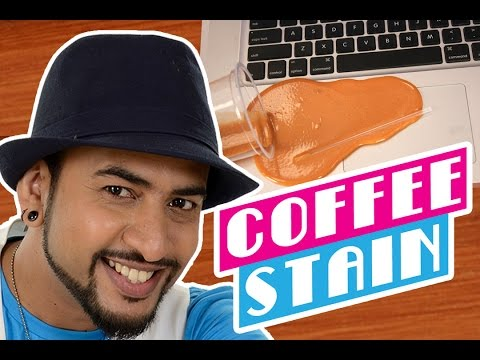 Mad Stuff with Rob – Funny Coffee Glue Stain Prank | DIY for Children