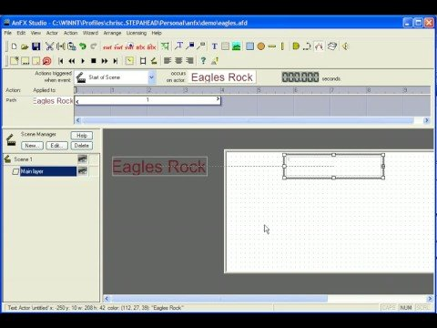 AnFX Introduction to easy flash movie creation